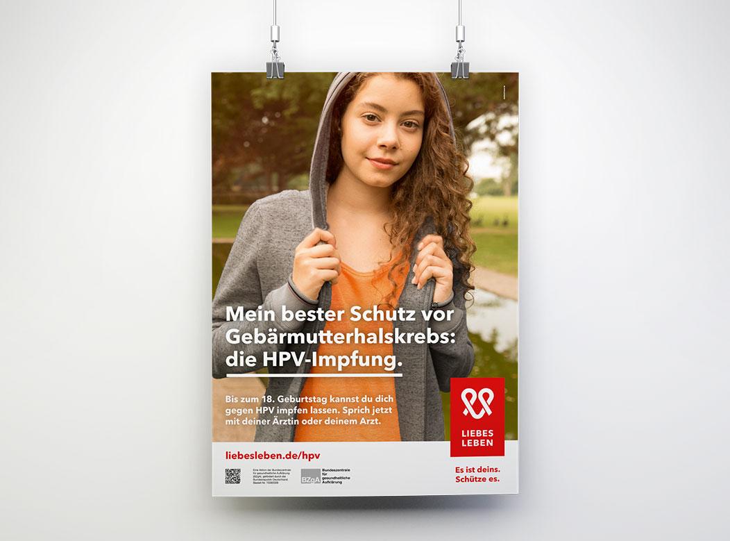hpv impfung jungen flyer)